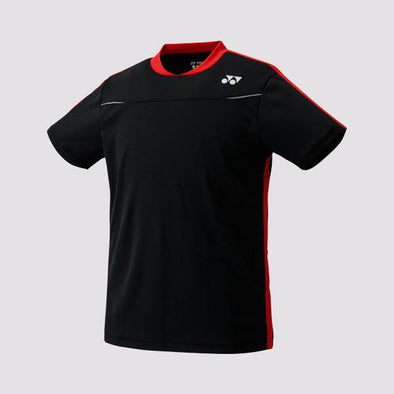 Yumo Pro Shop - Badminton Store Online - Yonex - 10178EX Men's Crew Neck Game Shirt - Black