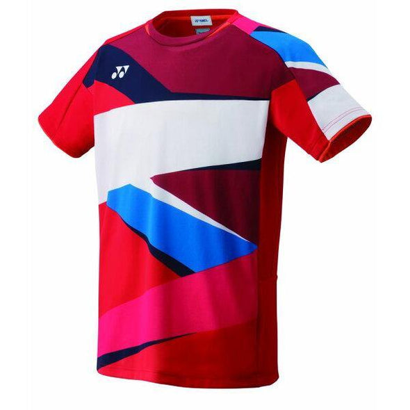 Yonex 2019 Japan National Polo 10309EX Men's Shirt [Red]