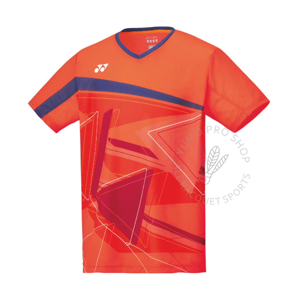 Yonex 10334 Men's Crew Neck Shirt [Flash Orange] ClothingYonex - Yumo Pro Shop - Racquet Sports online store