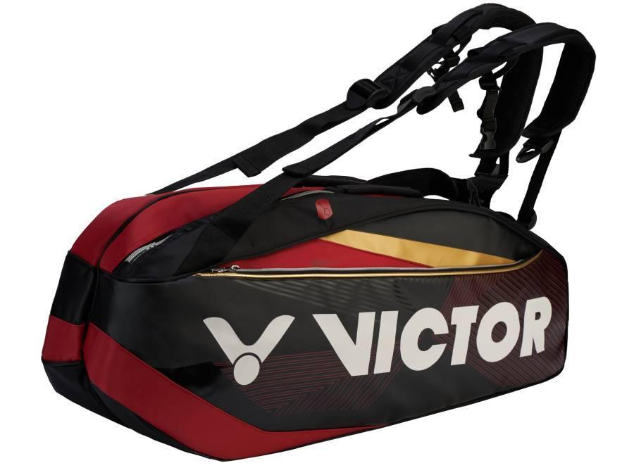Victor BR-9209CD Racket Bag [Black] BagVictor - Yumo Pro Shop - Racquet Sports online store