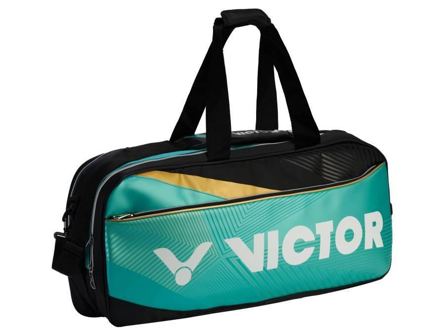 Victor BR-9609RC Racket Bag [Turquoise] timerVictor - Yumo Pro Shop - Racquet Sports online store