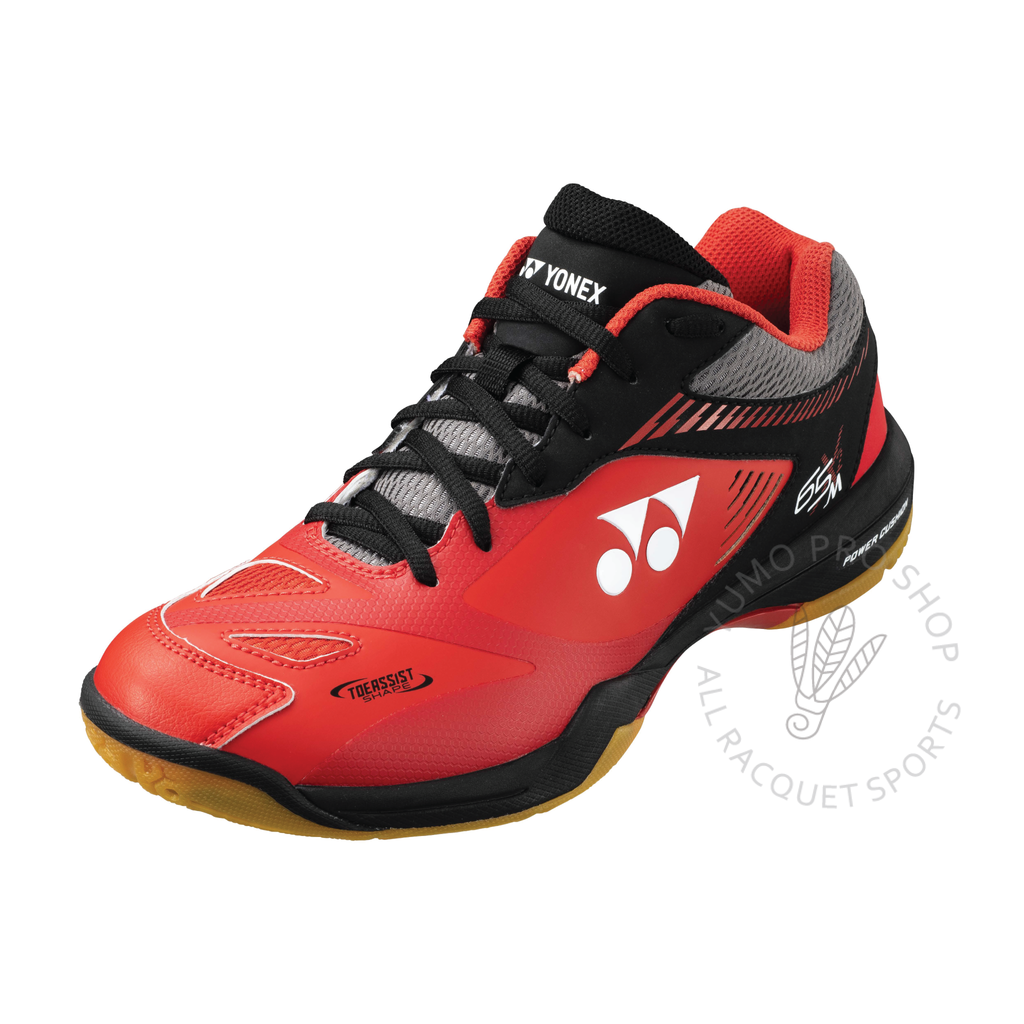 2020 Yonex Power Cushion SHB65X2 Men's Court Shoes [Red/Black] 2021Yonex - Yumo Pro Shop - Racquet Sports online store