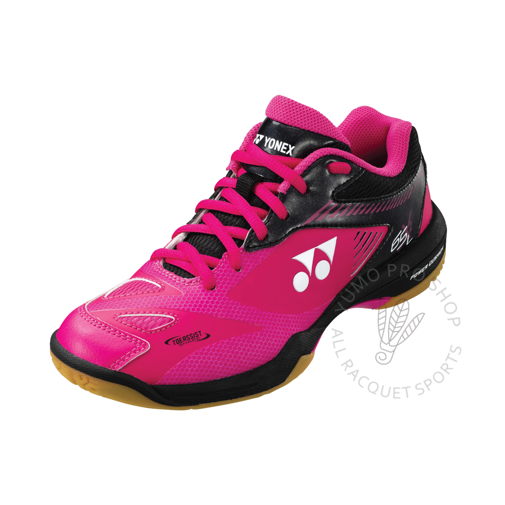 2020 Yonex Power Cushion SHB65X2L Ladies Court Shoes [Pink/Black] 2021Yonex - Yumo Pro Shop - Racquet Sports online store