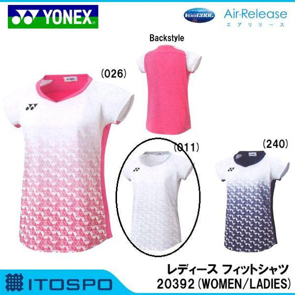Yonex 20392EX Women's Ladies Game Shirt Dri Fit Competition