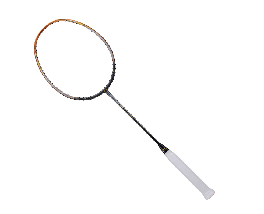 Li-Ning 3D Calibar-600 badminton Racket (Gold/Grey) [AYPP016] Badminton Racket above 150Li Ning - Yumo Pro Shop - Racquet Sports online store