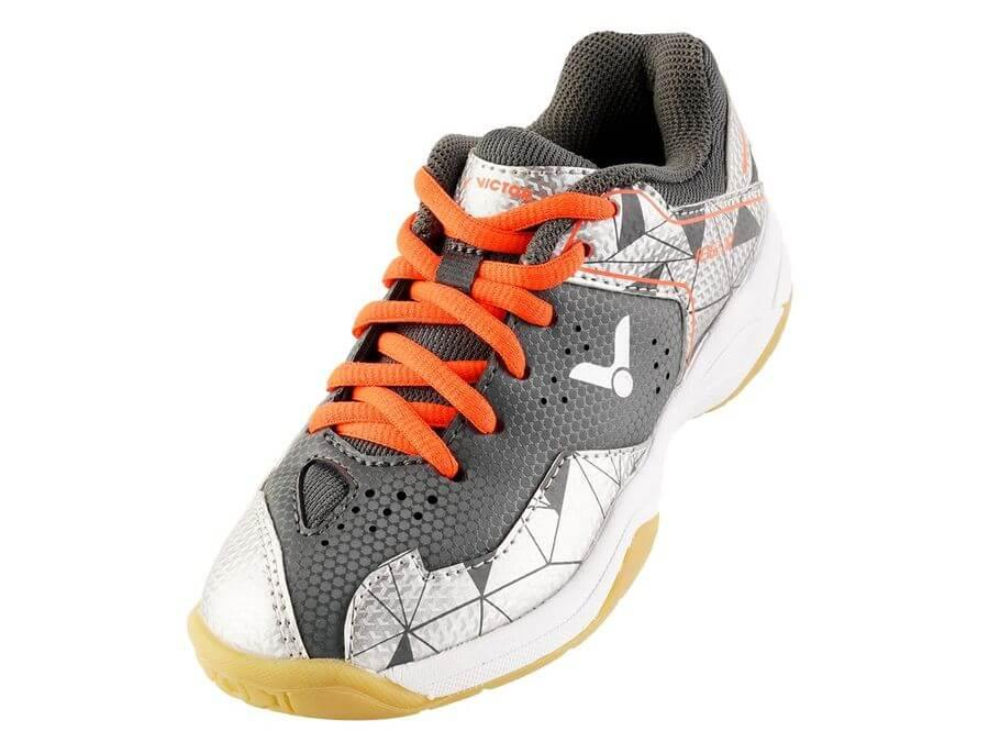 Victor A362JR CS Junior Court Shoes [Silver] ShoesVictor - Yumo Pro Shop - Racquet Sports online store