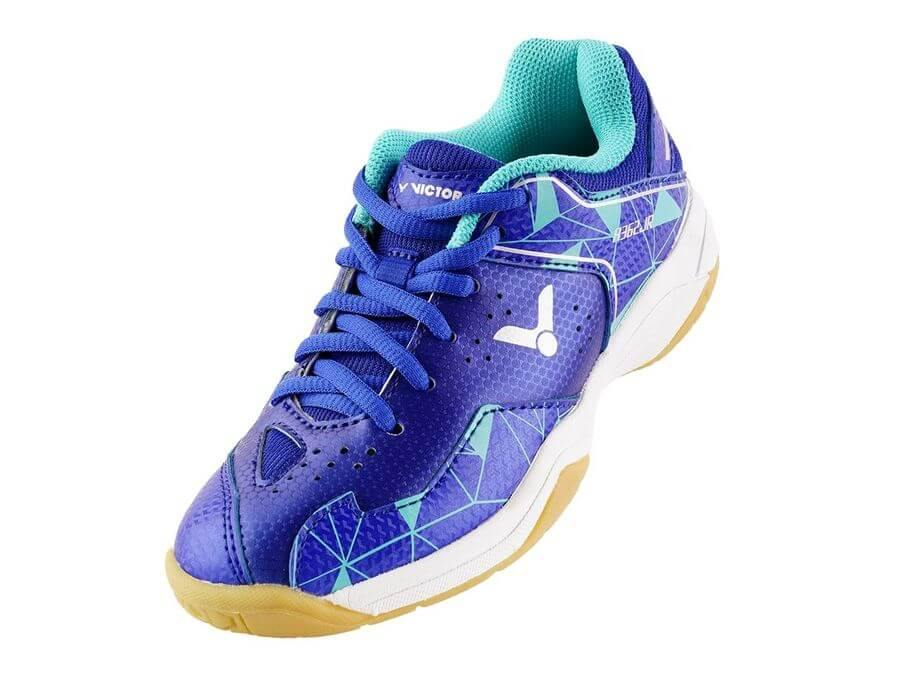 Victor A362JR FR Junior Court Shoes [Aqua Blue] ShoesVictor - Yumo Pro Shop - Racquet Sports online store