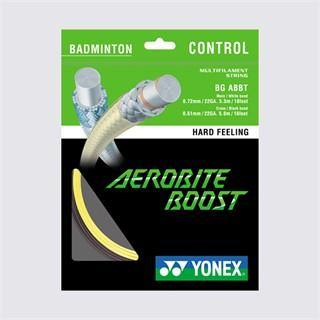 Yonex BG Aerobite Boost Badminton String [Yellow/Grey]