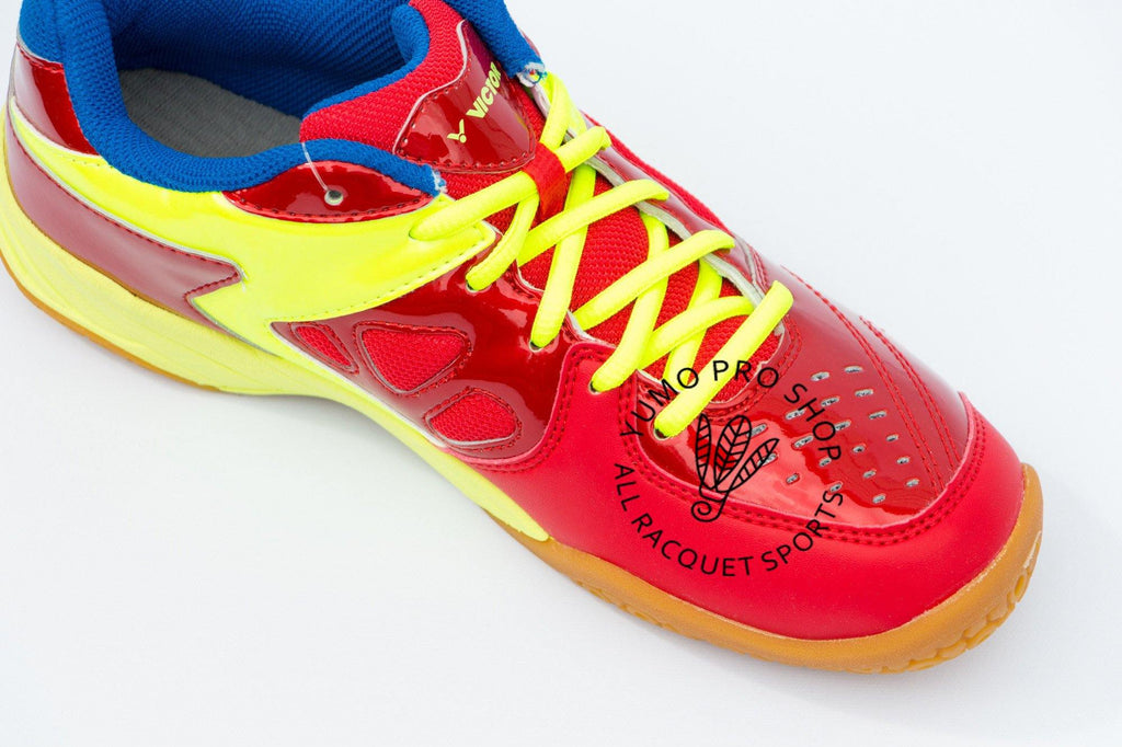 Victor AS 9200 DG Wide Court Shoes [Red/Yellow] SaleVictor - Yumo Pro Shop - Racquet Sports online store