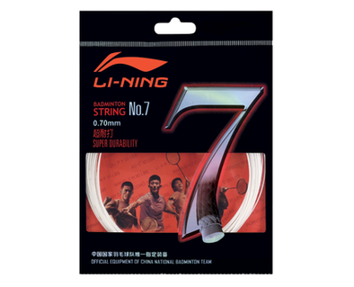 Li Ning BADMINTON STRING NO. 7 AXJJ014-1 SINGLE ROLL - Yumo Pro Shop - Racket Sports online store