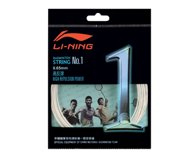 Li Ning BADMINTON STRING NO. 1 AXJJ018-1 SINGLE ROLL - Yumo Pro Shop - Racket Sports online store - 1