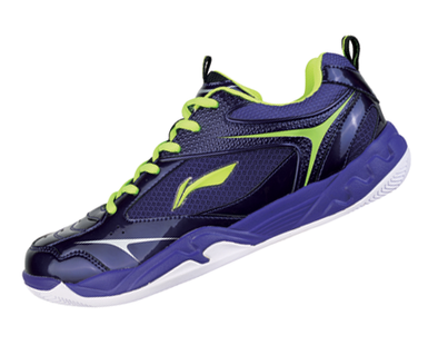 Li Ning Badminton Shoe Men's Competition [Purple] AYTJ079-4 - Yumo Pro Shop - Racket Sports online store - 1