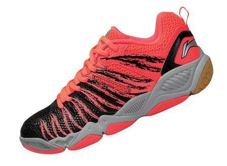 LI-NING WOMEN'S BADMINTON SHOES [BLACK] AYTL016-2 - Yumo Pro Shop - Racket Sports online store - 1