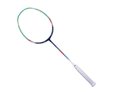 Li Ning Aeronaut 7000I badminton Racket (Purple/Green) [AYPP028]