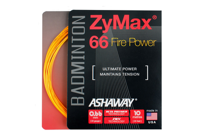 Ashaway ZyMax 66 Fire Power - Fire orange - Yumo Pro Shop - Racket Sports online store