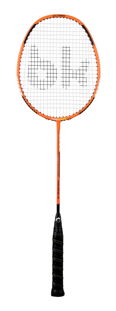Black Knight Diamond 111 Strung Badminton Racket