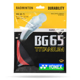 Yonex BG 65 Ti Badminton String - Yumo Pro Shop - Racket Sports online store - 4