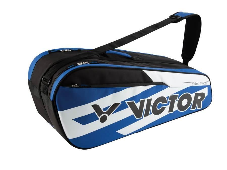 Victor BR 6210 FC 2 Compartment Racket Bag [Blue] BagVictor - Yumo Pro Shop - Racquet Sports online store