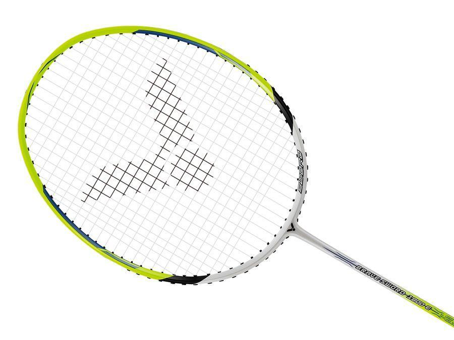 Victor Brave Sword 1800 E Strung Badminton Racket [Yellow] Badminton Racket below 150Victor - Yumo Pro Shop - Racquet Sports online store