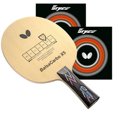 Butterfly BalsaCarbo X5 Pro-Line Racket