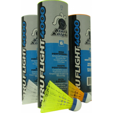 Black Knight Tru Flight 4000 Shuttles - Yumo Pro Shop - Racket Sports online store