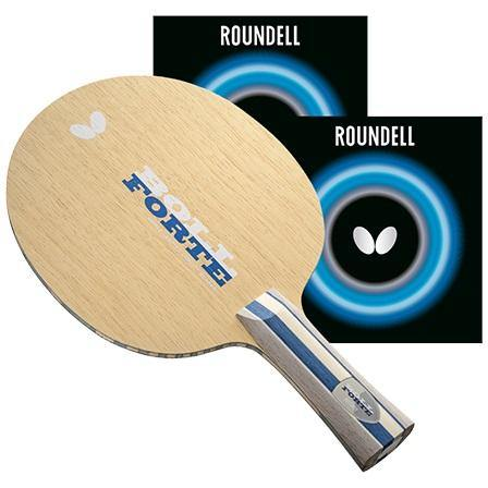 Butterfly Boll Forte Pro-Line Racket with Roundell Table Tennis RacquetButterfly - Yumo Pro Shop - Racquet Sports online store