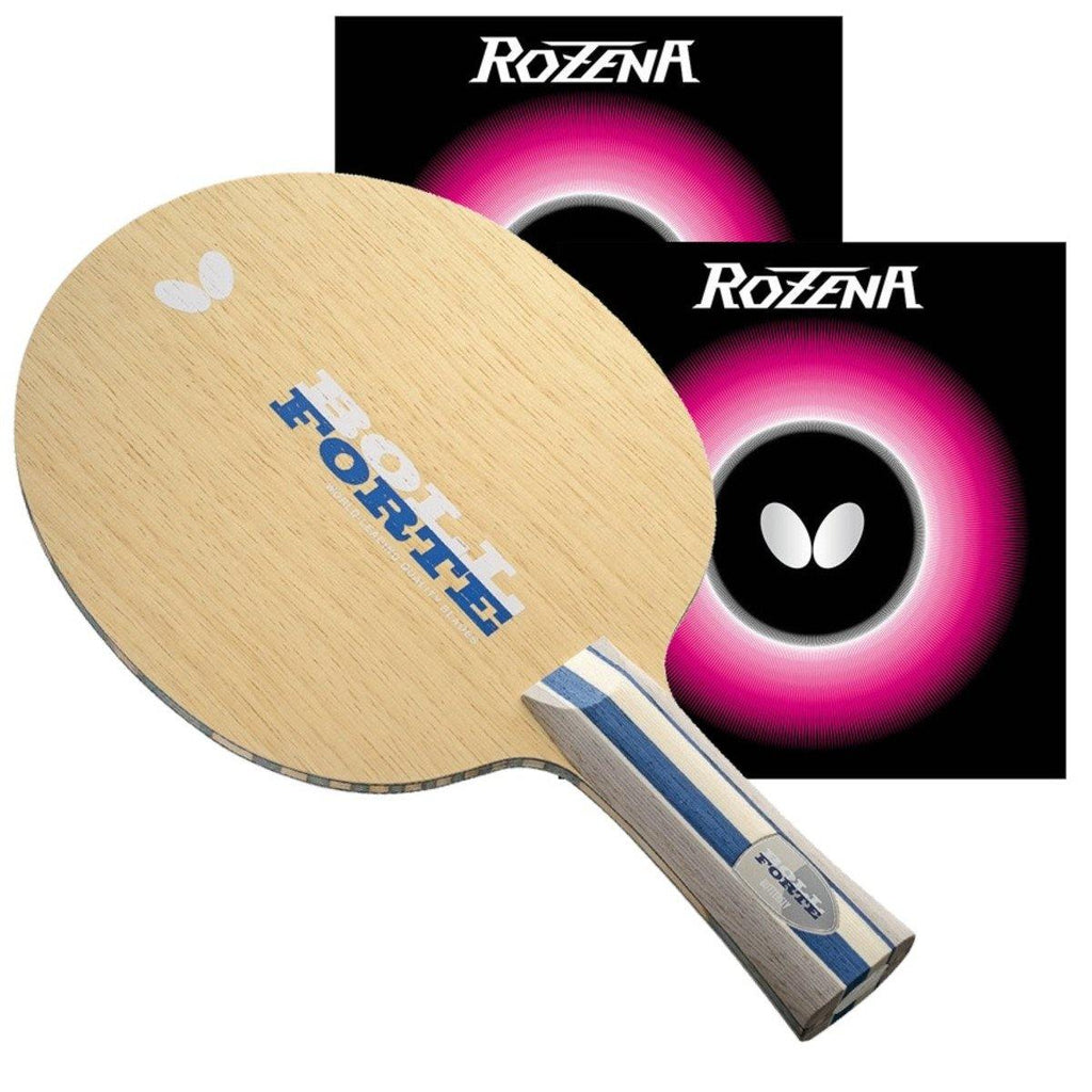 Butterfly Boll Forte FL Pro-Line Racket with Rozena Table Tennis RacquetButterfly - Yumo Pro Shop - Racquet Sports online store