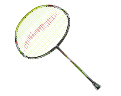 Li Ning Carbon Graphite A900 Strung Badminton Racket [Green]