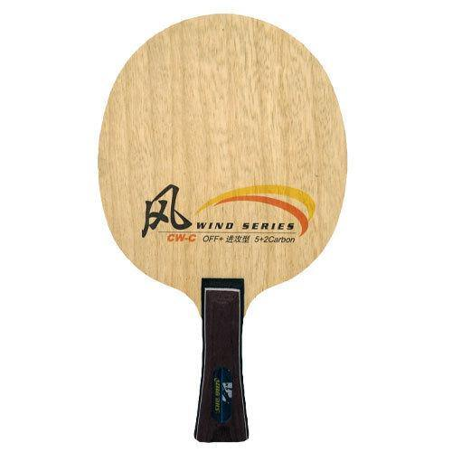 DHS Wind Carbon CW-C Shakehand (FL) Blade timerDHS - Yumo Pro Shop - Racquet Sports online store