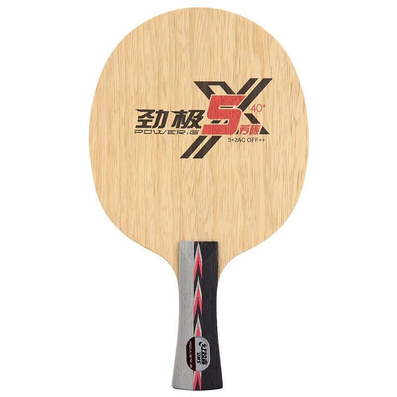DHS Power-G 5X Shakehand (FL) Blade timerDHS - Yumo Pro Shop - Racquet Sports online store
