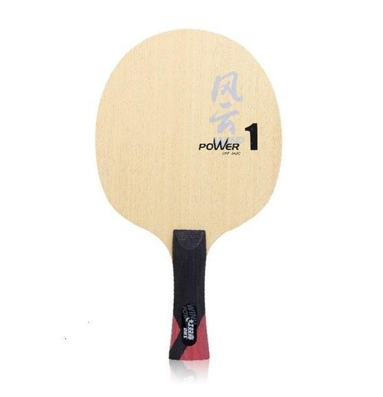 DHS Powerwind WP1 Shakehand (FL) Blade - small handle timerDHS - Yumo Pro Shop - Racquet Sports online store