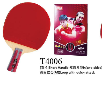 DHS T4006 Penhold Racket Set