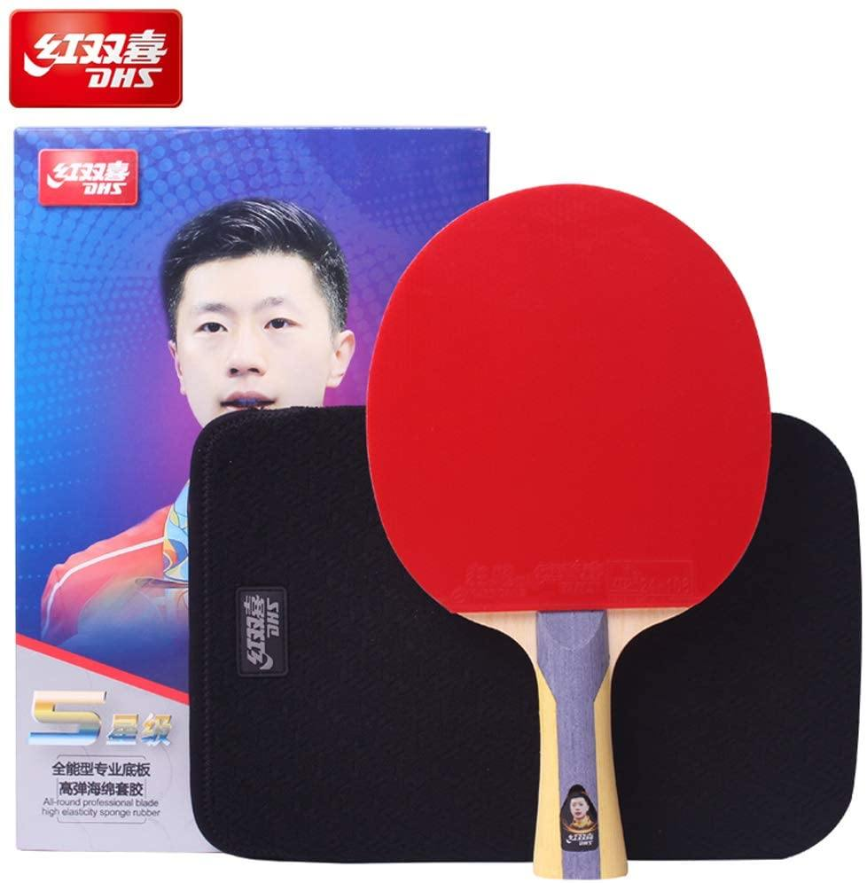 DHS T5002 Shakehand (FL) Racket Set Table Tennis RacquetDHS - Yumo Pro Shop - Racquet Sports online store