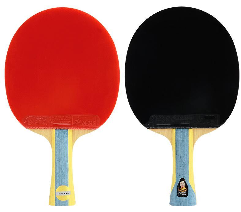 DHS T6002 Shakehand (FL) Racket Set Table Tennis RacquetDHS - Yumo Pro Shop - Racquet Sports online store