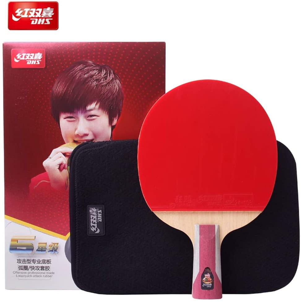 DHS T6006 Penhold (CS) Racket Set Table Tennis RacquetDHS - Yumo Pro Shop - Racquet Sports online store