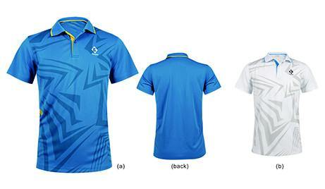 Kumpoo KWS-812 Men's Shirt - Yumo Pro Shop - Racket Sports online store