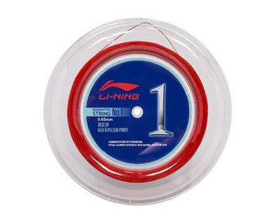 Li Ning Badminton String No. 1 Reel [RED] AXJJ072-4