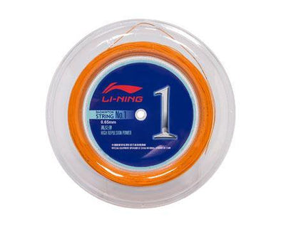Li Ning Badminton String No. 1 Reel [ORANGE] AXJJ072-5