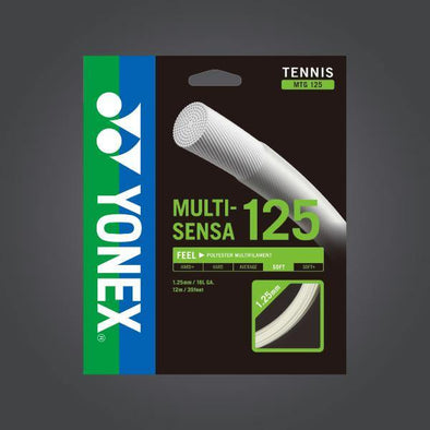 Yonex Multi-Sensa 125 16L Tennis Strings Soft Feeling