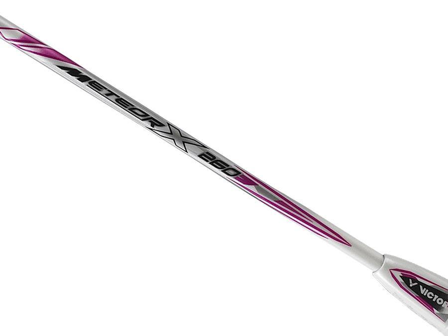 Victor Meteor X 260 [White/Pink] timerVictor - Yumo Pro Shop - Racquet Sports online store