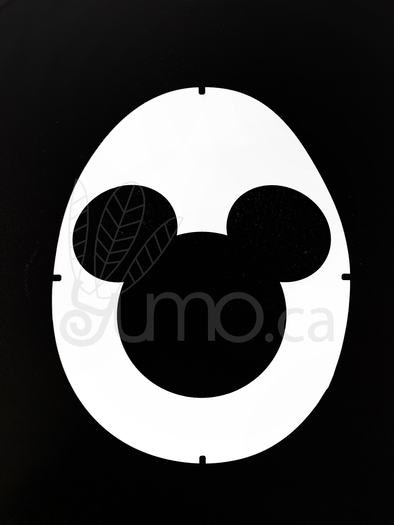 Mickey Mouse Stencil Card