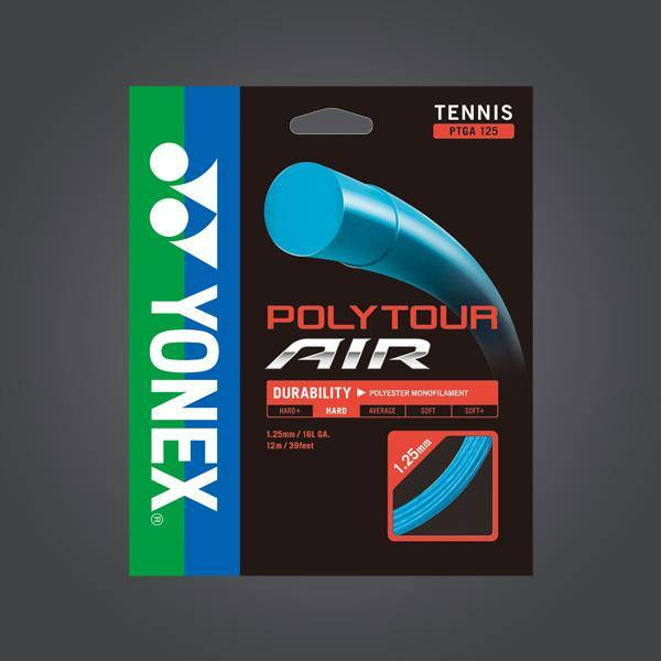 Yonex Polytour Air 125 1.25mm 16L Tennis Strings Hard Feeling