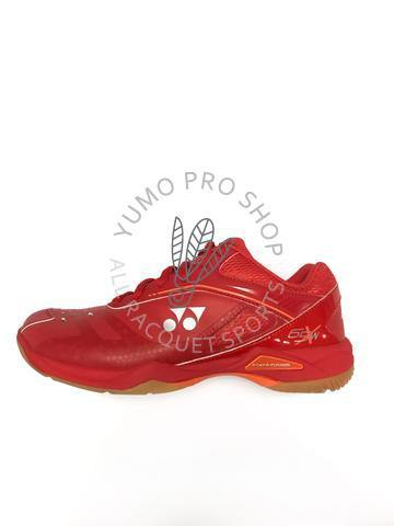 Yonex Power Cushion 65X Wide Court Shoes [Red]