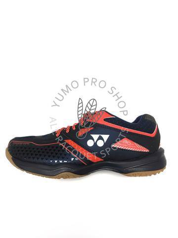 Yonex Power Cushion 36 Wide Court Shoes Navy Blue