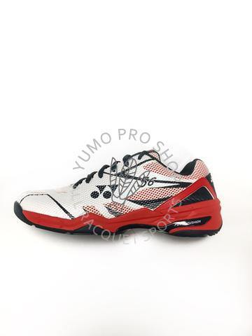 Yonex Power Cushion 56 Men's Court Shoes [WHITE/RED]