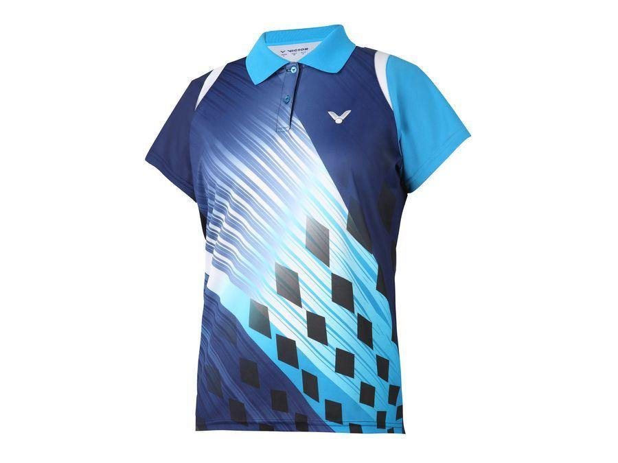Victor S-4801F Women's Polo T-Shirt ClothingVictor - Yumo Pro Shop - Racquet Sports online store