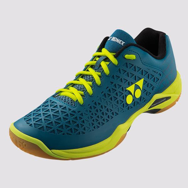 Yonex Power Cushion Eclipsion X Men's Court Shoes [Turq/Yellow] ShoesYonex - Yumo Pro Shop - Racquet Sports online store