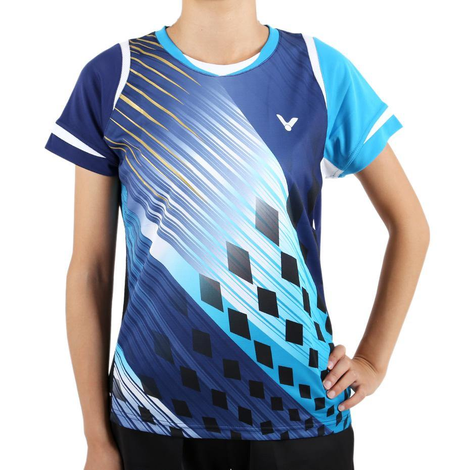 Victor T-4800F Women's T-Shirt ClothingVictor - Yumo Pro Shop - Racquet Sports online store