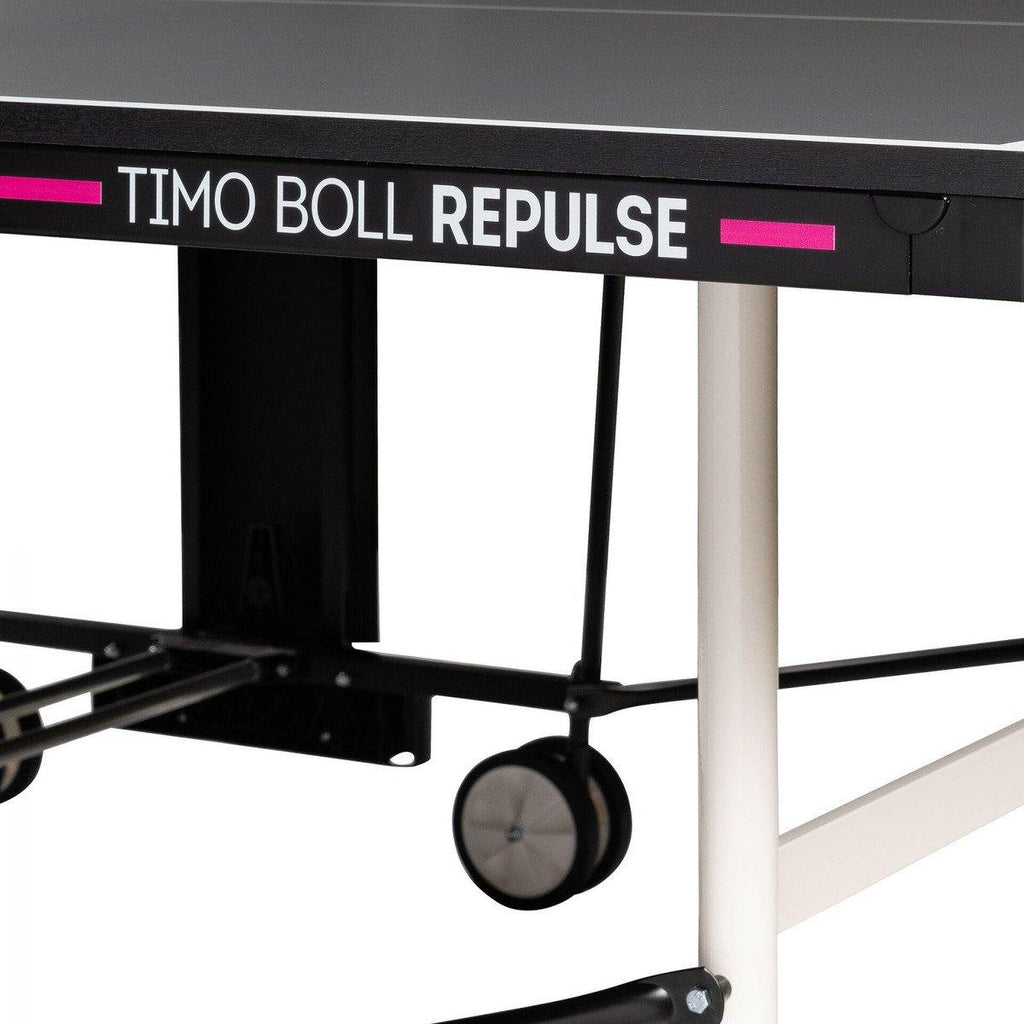 Timo Boll Repulse Table Tennis Table - Grey [USA Only] Table Tennis TableButterfly - Yumo Pro Shop - Racquet Sports online store
