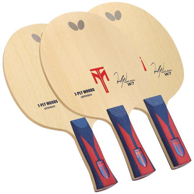 Butterfly Shakehand Timo Boll W7 Blade